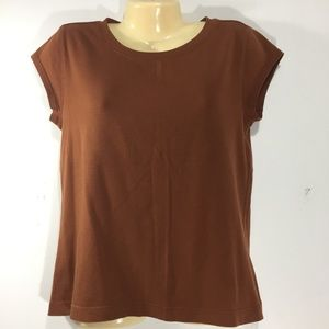 CHICO'S Brown Tshirt Size S 1 Small